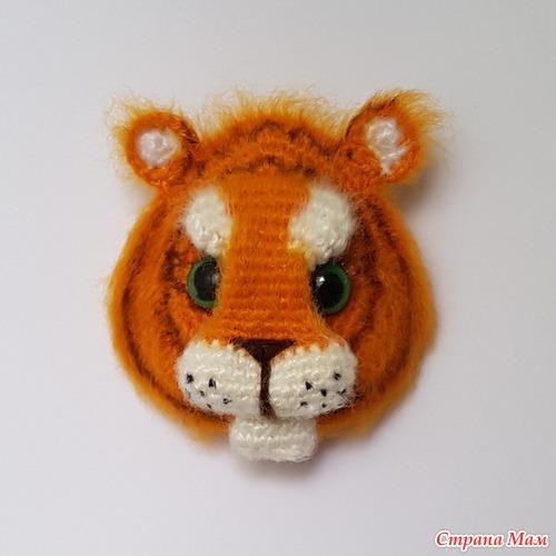 Тигр магнит от Swetatim 1983