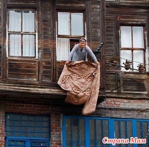 Про балконы и покрывала.